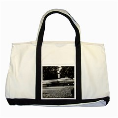 Vintage Germany Munich Deutsch Museum Starfighter 1970 Two Toned Tote Bag