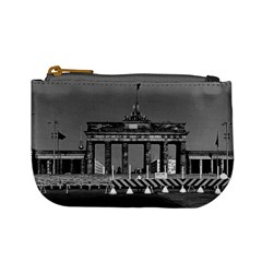 Vintage Germany Berlin Brandenburg Gate 1970 Coin Change Purse by Vintagephotos