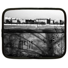 Vintage Germany Berlin Wall 1970 12  Netbook Case by Vintagephotos