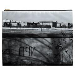 Vintage Germany Berlin Wall 1970 Cosmetic Bag (xxxl)