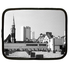 Vintage Germany Frankfurt Old Saint Nicholas Church 15  Netbook Case by Vintagephotos