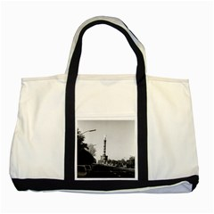 Vintage Germany Berlin 17th June Street Victory Statue Two Toned Tote Bag