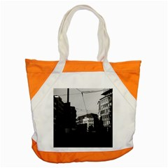 Vintage Germany Frankfurt City Street 1970 Snap Tote Bag