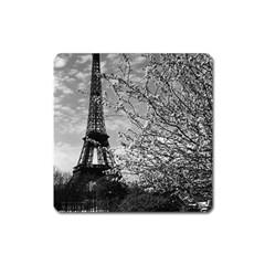 Vintage France Paris Eiffel Tour 1970 Large Sticker Magnet (square) by Vintagephotos