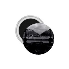 Vintage France Paris Triumphal Arch Unknown Soldier Small Magnet (round) by Vintagephotos