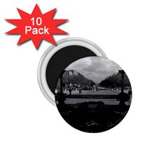 Vintage France Paris Triumphal Arch Unknown Soldier 10 Pack Small Magnet (round) by Vintagephotos