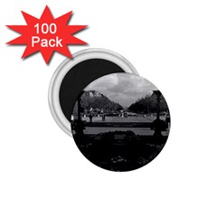 Vintage France Paris Triumphal Arch Unknown Soldier 100 Pack Small Magnet (round) by Vintagephotos