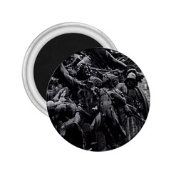 Vintage France Paris Triumphal Arch Marseillaise Rude Regular Magnet (round) by Vintagephotos