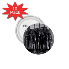 Vintage France Paris  Invalides Marshal Foch Tomb 1970 10 Pack Small Button (round) by Vintagephotos