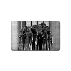 Vintage France Paris  Invalides Marshal Foch Tomb 1970 Name Card Sticker Magnet by Vintagephotos