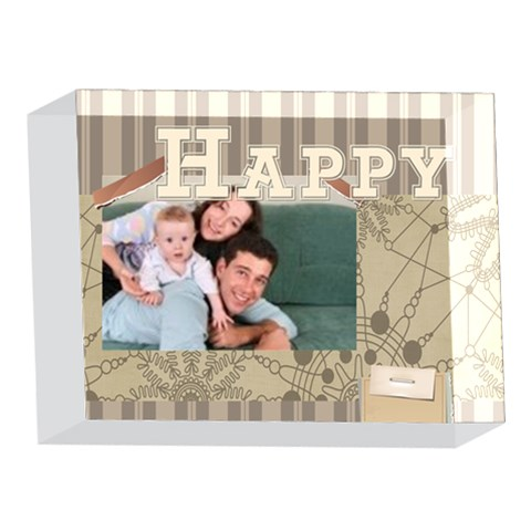 Family By Joely   5 x 7  Acrylic Photo Block   Ilbs1dwh753k   Www Artscow Com Front