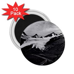 Vintage Usa Alaska Worthington Glacier In Summer 1970 10 Pack Regular Magnet (round) by Vintagephotos