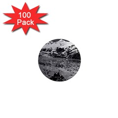Vintage Usa Alaska Glacier Bay National Monument 1970 100 Pack Mini Magnet (round) by Vintagephotos