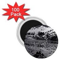 Vintage Usa Alaska Glacier Bay National Monument 1970 100 Pack Small Magnet (round) by Vintagephotos