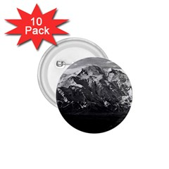 Vintage Usa Alaska Beautiful Mt Mckinley 1970 10 Pack Small Button (round) by Vintagephotos