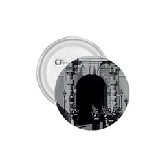 Vintage Principality Of Monaco Palace Gate And Guard Small Button (round) by Vintagephotos