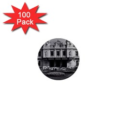 Vintage Principality Of Monaco Monte Carlo Casino 100 Pack Mini Magnet (round) by Vintagephotos