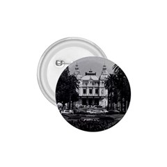 Vintage Principality Of Monaco Monte Carlo Casino Small Button (round) by Vintagephotos
