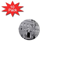Vintage Principality Of Monaco Princely Palace 1970 10 Pack Mini Magnet (round)