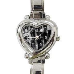 Vintage Uk England London Shops Carnaby Street 1970 Classic Elegant Ladies Watch (heart) by Vintagephotos