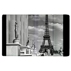 Vintage France Paris Eiffel Tour Chaillot Palace 1970 Apple Ipad 3/4 Flip Case by Vintagephotos