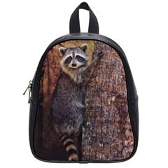 Raccoon Small School Backpack