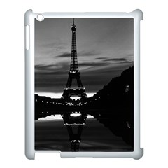 Vintage France Paris Eiffel Tower Reflection 1970 Apple Ipad 3/4 Case (white)