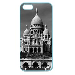 Vintage France Paris The Sacre Coeur Basilica 1970 Apple Seamless Iphone 5 Case (color) by Vintagephotos