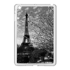 Vintage France Paris Eiffel Tour 1970 Apple Ipad Mini Case (white)