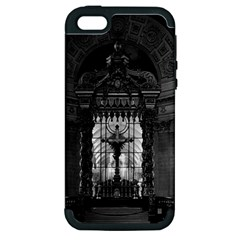 Vintage France Paris Royal Chapel Altar St James Palace Apple Iphone 5 Hardshell Case (pc+silicone) by Vintagephotos