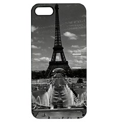 Vintage France Paris Fontain Chaillot Tour Eiffel 1970 Apple Iphone 5 Hardshell Case With Stand by Vintagephotos