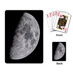 First Quarter (Half moon) playing cards - Playing Cards Single Design