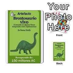 Crononautas 2 By Javier Benítez   Multi Purpose Cards (rectangle)   Buuyhxzn9bns   Www Artscow Com Front 11