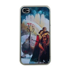 The Ice Schooner Apple iPhone 4 Case (Clear) by ILPADRINO810