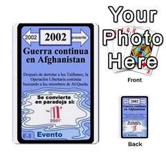 Crononautas 3 By Javier Benítez   Multi Purpose Cards (rectangle)   95k45v1txzd2   Www Artscow Com Front 46