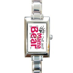 Mama Bear Claw 2013 Classic Elegant Ladies Watch (rectangle) by CleverestTees