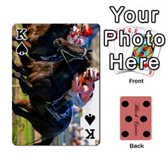 King Black Caviar By Banger Harvey   Playing Cards 54 Designs   Hehizzgmko9e   Www Artscow Com Front - SpadeK