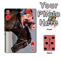 Black Caviar By Banger Harvey   Playing Cards 54 Designs   Hehizzgmko9e   Www Artscow Com Front - Heart5