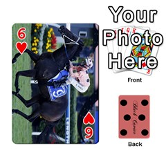 Black Caviar By Banger Harvey   Playing Cards 54 Designs   Hehizzgmko9e   Www Artscow Com Front - Heart6