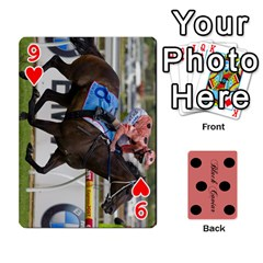 Black Caviar By Banger Harvey   Playing Cards 54 Designs   Hehizzgmko9e   Www Artscow Com Front - Heart9