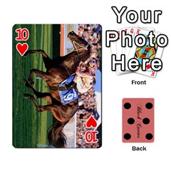 Black Caviar By Banger Harvey   Playing Cards 54 Designs   Hehizzgmko9e   Www Artscow Com Front - Heart10