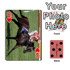 Queen Black Caviar By Banger Harvey   Playing Cards 54 Designs   Hehizzgmko9e   Www Artscow Com Front - HeartQ