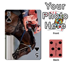 Black Caviar By Banger Harvey   Playing Cards 54 Designs   Hehizzgmko9e   Www Artscow Com Front - Spade5
