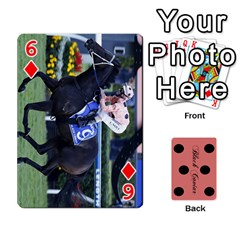 Black Caviar By Banger Harvey   Playing Cards 54 Designs   Hehizzgmko9e   Www Artscow Com Front - Diamond6