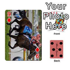 Black Caviar By Banger Harvey   Playing Cards 54 Designs   Hehizzgmko9e   Www Artscow Com Front - Diamond9