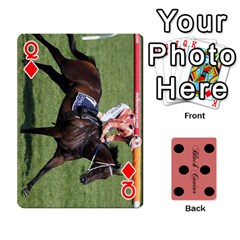 Queen Black Caviar By Banger Harvey   Playing Cards 54 Designs   Hehizzgmko9e   Www Artscow Com Front - DiamondQ