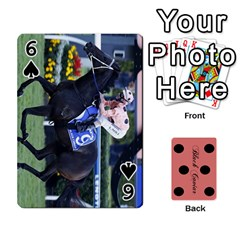 Black Caviar By Banger Harvey   Playing Cards 54 Designs   Hehizzgmko9e   Www Artscow Com Front - Spade6