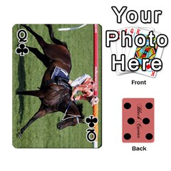 Queen Black Caviar By Banger Harvey   Playing Cards 54 Designs   Hehizzgmko9e   Www Artscow Com Front - ClubQ
