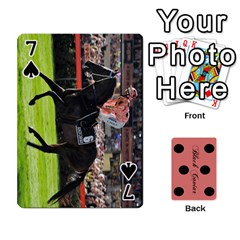 Black Caviar By Banger Harvey   Playing Cards 54 Designs   Hehizzgmko9e   Www Artscow Com Front - Spade7