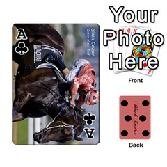 Ace Black Caviar By Banger Harvey   Playing Cards 54 Designs   Hehizzgmko9e   Www Artscow Com Front - ClubA